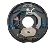"""Brake Assembly Electric 10"""" Self Adjust Right Hand (Mounting nuts included)"""