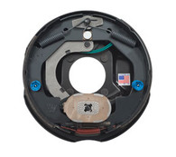"""Brake Assembly Electric 10"""" Standard Left Hand  (Mounting nuts Included)"""