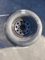 Tire Radial 235/80R16E on 8 Hole 865 Black Mod Wheel