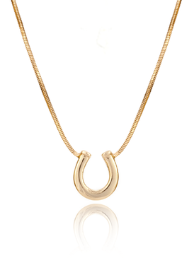 Aristocratic Omega Horseshoe Necklace 44033