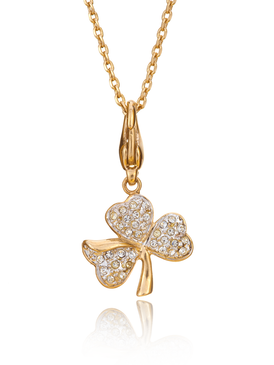 Virtuous Clover Pendant Necklace 35125