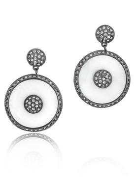 Aztec Disc Earring 34033