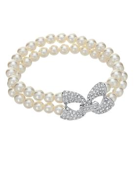 Statement Clasp Pearl Strand Bracelet 70387