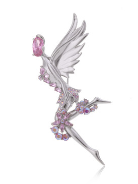 Fairy Angel CZ Brooch 83762