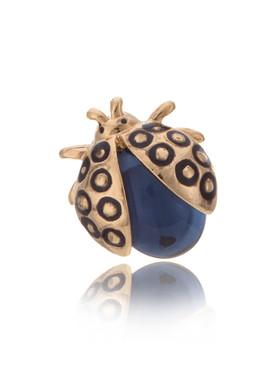 Enamel Ladybug Brooch Pin 81331