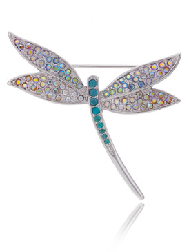 Maggie's Multi-Color Dragonfly Brooch  | Brooches