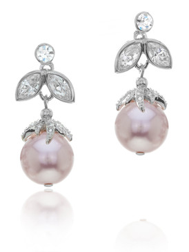 Alexandra's Crystal Pearl Earrings 4 | Earrings