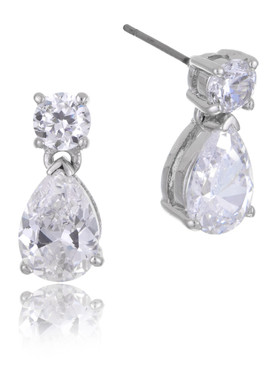Valencia's CZ Teardrop Earrings  | Earrings
