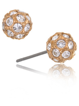 Dillard's Disco Ball Stud Earrings 24008
