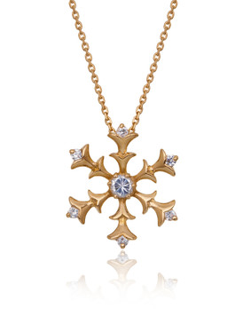 CZ Snowflakes Pendant Necklace  | Pendants