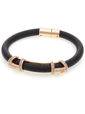Crystal Rubber Cord Bracelet 70348