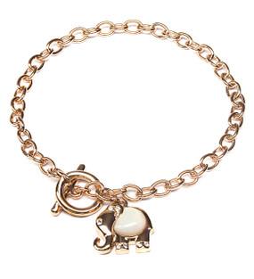Elephant Charm Toggle Bracelet  | Bracelets
