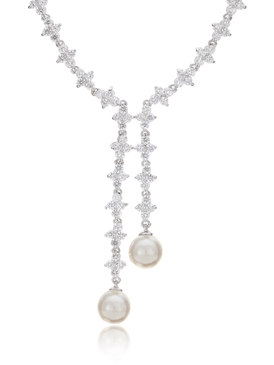 Dual Pearls Necklace 450358