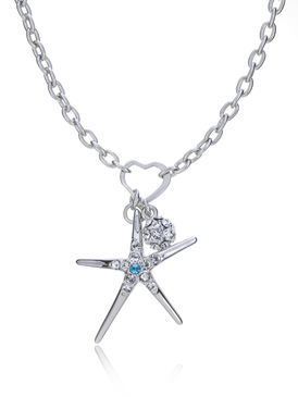 Charmed Zesty Starfish Necklace 450340