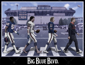 Big Blue Blvd (Wall Print)