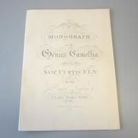 1965 Reissue Samuel Curtis 1819 Monograph Genus Camellia Clara Maria Pope