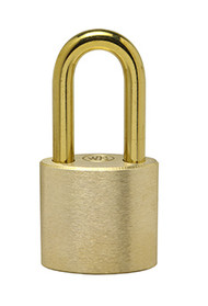 "2"" Brass Shackle - Solid Brass Padlock"