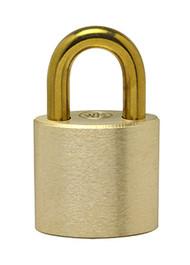 "1"" Brass Shackle - Solid Brass Padlock"