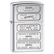 Classic Zippo Logos High Polish Zippo