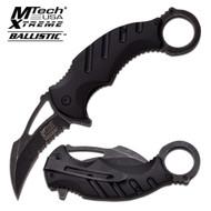 M-tech Xtreme Ballistic BK Karambit AO Knife