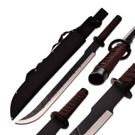 """Black Blade Fantasy Sword 25"""""""