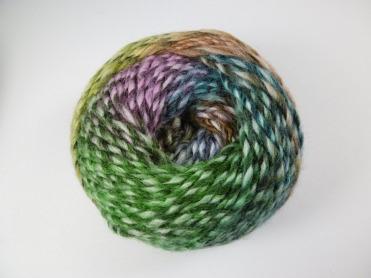 Ball of Adriafil Mistero Knitting Yarn, shade 53 Glade