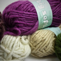 Sirdar Big Softie Super Chunky Yarn, 50g Balls | Various Colours (Discontinued)
