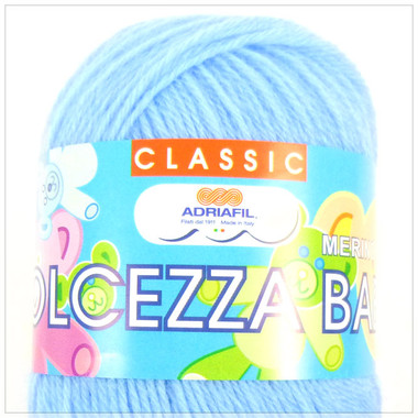 Adriafil Dolcezza Baby 3 Ply Yarn - Blue 10