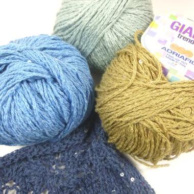 Adriafil Giada Balls of Yarn - Main Image