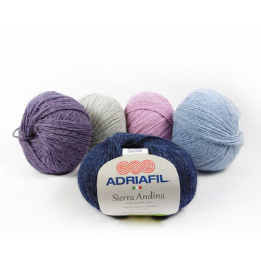 Adriafil Sierra Andina Alpaca Knitting Yarn   Various Shades - Main Image