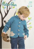 Childrens Hoodie DK Pattern | Peter Pan DK 1236