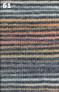 Adriafil Zebrino knitted up - 61