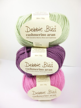 Debbie Bliss Cashmerino Aran Knitting Yarn, 50g | Various Colours  - Main image