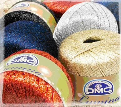 Dmc Lumina Crochet Thread Various Colours Outback Yarns