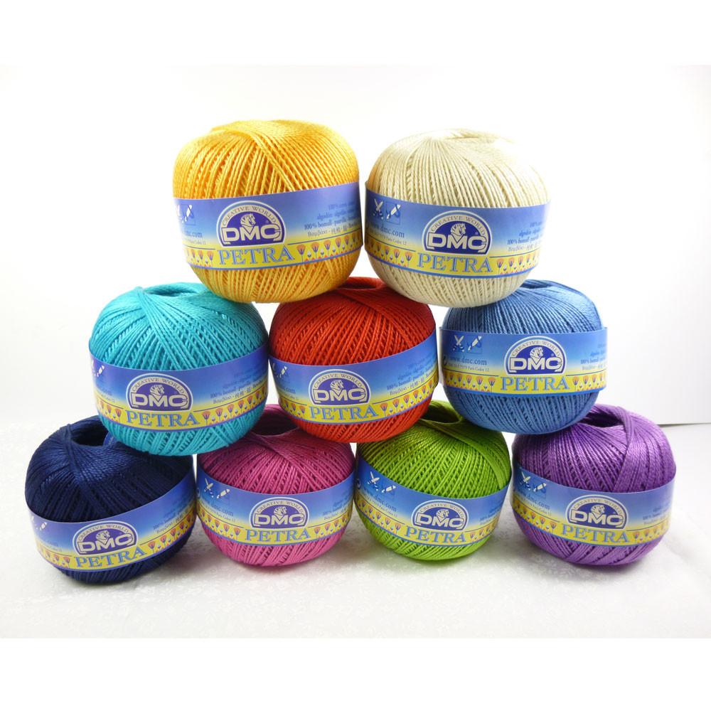 Dmc Petra Crochet Thread 3 Tkt Size 3 Crochet Yarn Outback Yarns