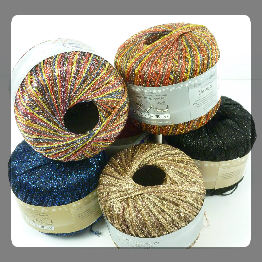 Dmc Starlet Crochet Thread 3 Tkt Size 3 Outback Yarns