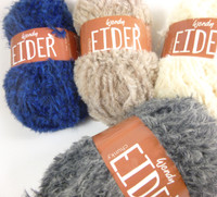 Wendy Eider Chunky yarn - Main image of the different colours