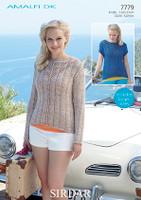 Sirdar Amalfi pattern - 7779