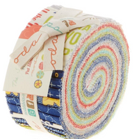The Sweet Life Collection Jelly Roll Fabric Pack | Pat Sloan | Moda Fabrics - Fabrics in the collection