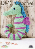Crochet pattern for a Seahorse - DMC Natura XL