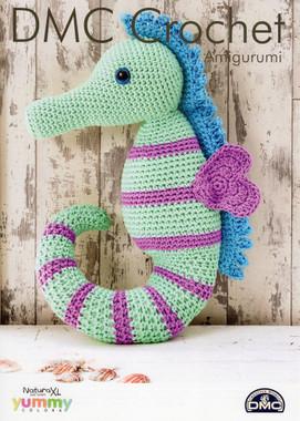 Crochet pattern for a Seahorse - DMC Natura XL
