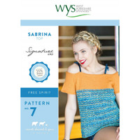 4ply Pattern for Short Sleeved Sabrina Top | 7 | WYS Signature 4ply