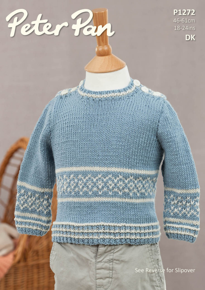 7a50e6c67be418 Childs Sweater   Slipover Patterns