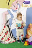 Child's Mini Pullover, Socks, Blanket and Toy Sack Knitting Pattern   Adriafil Avantgarde - Free Downloadable Knitting Pattern 44 - Main Image