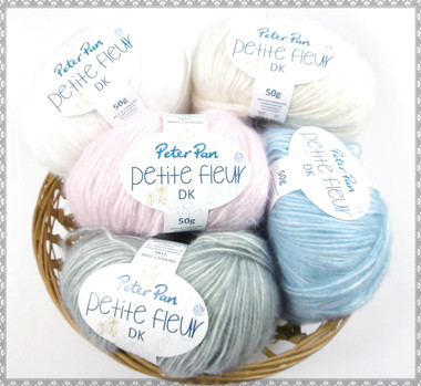 Peter Pan Petite Fleur DK Baby Yarn, 50g Balls | Various Colours - Main image