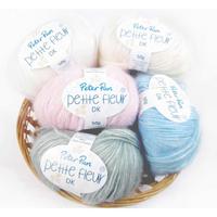 Peter Pan Petite Fleur DK Baby Yarn, 50g Balls | Various Colours