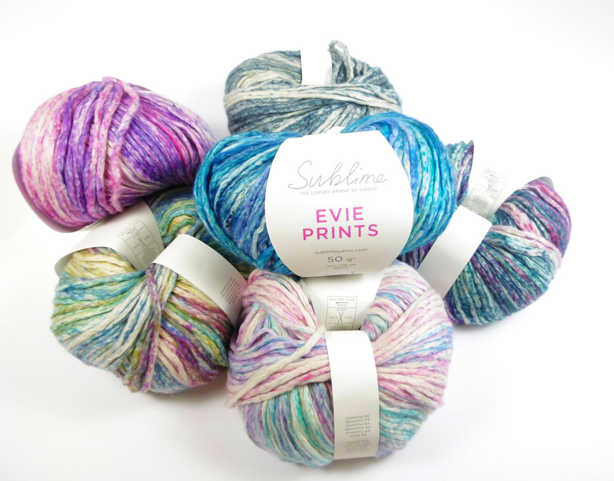 97f41ee0d Sublime Evie Prints Cotton Rich Knitting Yarn