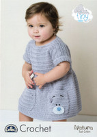 Tiny Tatty Teddy Baby & Childs Crocheted Dress Pattern | DMC Natura Just Cotton