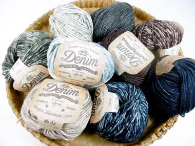 DMC Natura Denim Crochet Cotton medium, 50g   Various Colours