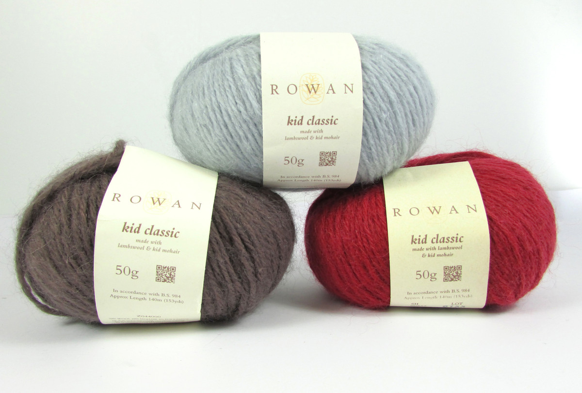 ed0f16d1 ... Rowan Kid Classic Mohair Rich Yarn, 50g | Various Shades. Loading zoom